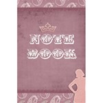 girlnotebook - 5.5  x 8.5  Notebook