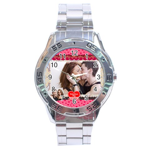 Love By Love   Stainless Steel Analogue Watch   R1ijwbabhe9t   Www Artscow Com Front