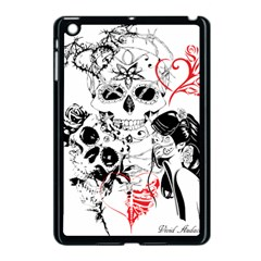 Skull Love Affair Apple iPad Mini Case (Black) by vividaudacity