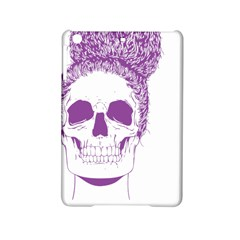 Purple Skull Bun Up Apple Ipad Mini 2 Hardshell Case by vividaudacity