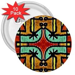 Lap 3  Button (10 Pack) by dflcprints