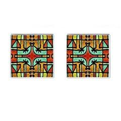 Lap Cufflinks (square) by dflcprints