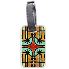 Lap Luggage Tag (two Sides) by dflcprints