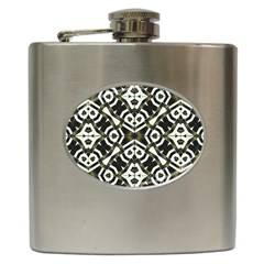 Abstract Geometric Modern Pattern  Hip Flask by dflcprints