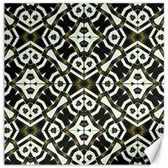Abstract Geometric Modern Pattern  Canvas 16  X 16  (unframed) by dflcprints