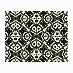 Abstract Geometric Modern Pattern  Glasses Cloth (small, Two Sided) by dflcprints