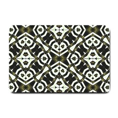 Abstract Geometric Modern Pattern  Small Door Mat by dflcprints
