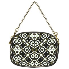 Abstract Geometric Modern Pattern  Chain Purse (one Side) by dflcprints