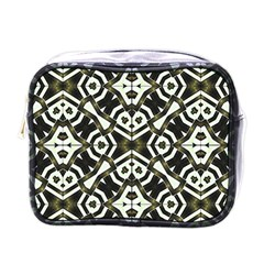 Abstract Geometric Modern Pattern  Mini Travel Toiletry Bag (one Side) by dflcprints