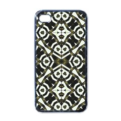 Abstract Geometric Modern Pattern  Apple Iphone 4 Case (black) by dflcprints