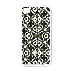 Abstract Geometric Modern Pattern  Apple Iphone 4 Case (white) by dflcprints