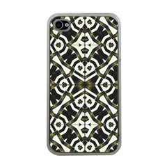 Abstract Geometric Modern Pattern  Apple Iphone 4 Case (clear) by dflcprints