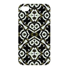 Abstract Geometric Modern Pattern  Apple Iphone 4/4s Hardshell Case by dflcprints