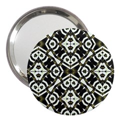 Abstract Geometric Modern Pattern  3  Handbag Mirror by dflcprints