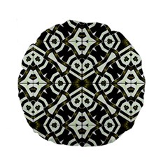 Abstract Geometric Modern Pattern  15  Premium Round Cushion  by dflcprints