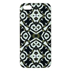 Abstract Geometric Modern Pattern  Apple Iphone 5 Premium Hardshell Case by dflcprints