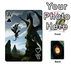 Ace Jaden By Shawn Erickson   Playing Cards 54 Designs (rectangle)   5au6hooh2ivm   Www Artscow Com Front - SpadeA