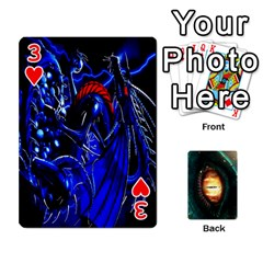 Jaden By Shawn Erickson   Playing Cards 54 Designs (rectangle)   5au6hooh2ivm   Www Artscow Com Front - Heart3