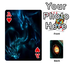 Ace Jaden By Shawn Erickson   Playing Cards 54 Designs (rectangle)   5au6hooh2ivm   Www Artscow Com Front - HeartA