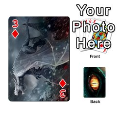 Jaden By Shawn Erickson   Playing Cards 54 Designs (rectangle)   5au6hooh2ivm   Www Artscow Com Front - Diamond3