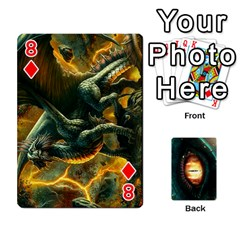 Jaden By Shawn Erickson   Playing Cards 54 Designs (rectangle)   5au6hooh2ivm   Www Artscow Com Front - Diamond8