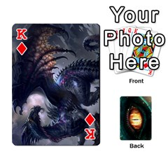 King Jaden By Shawn Erickson   Playing Cards 54 Designs (rectangle)   5au6hooh2ivm   Www Artscow Com Front - DiamondK