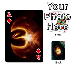 Ace Jaden By Shawn Erickson   Playing Cards 54 Designs (rectangle)   5au6hooh2ivm   Www Artscow Com Front - DiamondA