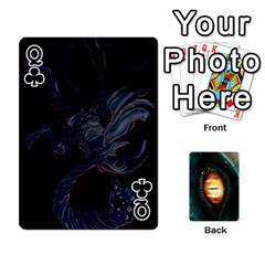 Queen Jaden By Shawn Erickson   Playing Cards 54 Designs (rectangle)   5au6hooh2ivm   Www Artscow Com Front - ClubQ