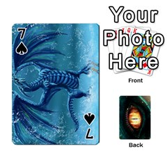Jaden By Shawn Erickson   Playing Cards 54 Designs (rectangle)   5au6hooh2ivm   Www Artscow Com Front - Spade7