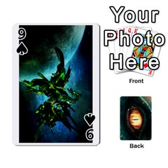 Jaden By Shawn Erickson   Playing Cards 54 Designs (rectangle)   5au6hooh2ivm   Www Artscow Com Front - Spade9