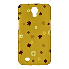 Abstract Geometric Shapes Design In Warm Tones Samsung Galaxy Mega 6 3  I9200 Hardshell Case by dflcprints