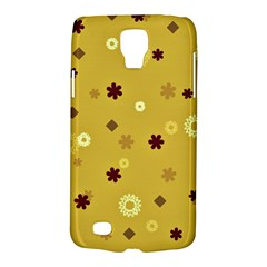 Abstract Geometric Shapes Design In Warm Tones Samsung Galaxy S4 Active (i9295) Hardshell Case by dflcprints