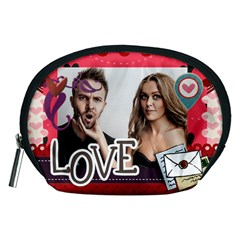 Love By Love   Accessory Pouch (medium)   Ynm3nyuwwa7l   Www Artscow Com Front