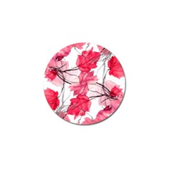 Floral Print Swirls Decorative Design Golf Ball Marker 4 Pack by dflcprints