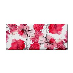 Floral Print Swirls Decorative Design Hand Towel by dflcprints