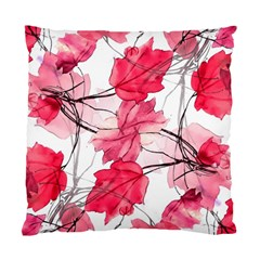 Floral Print Swirls Decorative Design Cushion Case (two Sided)  by dflcprints