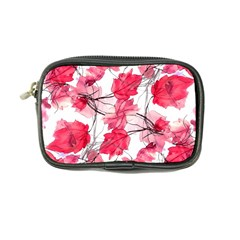 Floral Print Swirls Decorative Design Coin Purse by dflcprints
