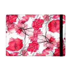 Floral Print Swirls Decorative Design Apple Ipad Mini Flip Case by dflcprints
