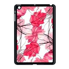 Floral Print Swirls Decorative Design Apple Ipad Mini Case (black) by dflcprints