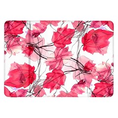 Floral Print Swirls Decorative Design Samsung Galaxy Tab 8 9  P7300 Flip Case by dflcprints