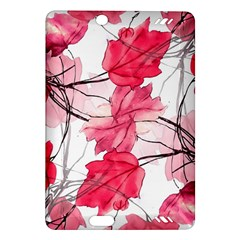 Floral Print Swirls Decorative Design Kindle Fire Hd (2013) Hardshell Case by dflcprints