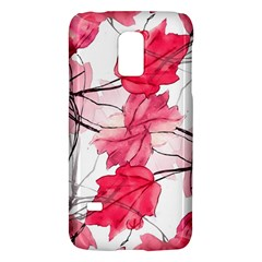 Floral Print Swirls Decorative Design Samsung Galaxy S5 Mini Hardshell Case