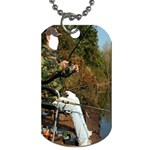 Jumping Jehoshaphat! Lazarath Come Forth ! A Fish Story!  - Dog Tag (Two Sides)