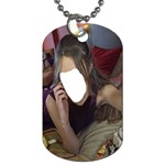 Maroon Woman Series #1 - Dog Tag (Two Sides)