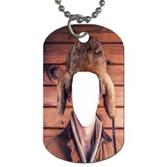 Funny Man ! By Pamela Sue Goforth   Dog Tag (two Sides)   Dz9p08ih0dz7   Www Artscow Com Front