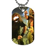 Foly Or Feeding Tube Got Twisted ! Gonnna Break The Chains ! - Dog Tag (Two Sides)
