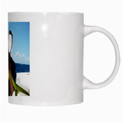 Green Tropical Fisher By Pamela Sue Goforth   White Mug   Apv3v6jx8d92   Www Artscow Com Right