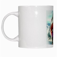 Shark ! By Pamela Sue Goforth   White Mug   Ich0rxn20cmo   Www Artscow Com Left