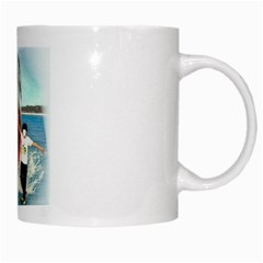 Shark ! By Pamela Sue Goforth   White Mug   Ich0rxn20cmo   Www Artscow Com Right