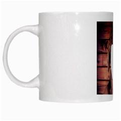 Funny Man ! By Pamela Sue Goforth   White Mug   Vzk4jsa104ik   Www Artscow Com Left